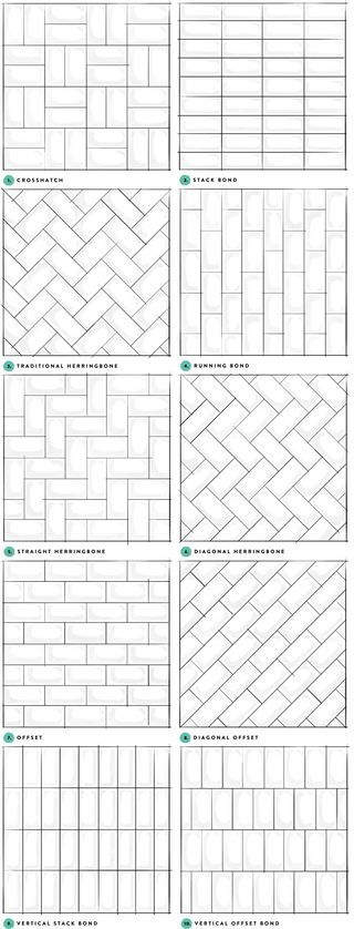 Subway Tile Designs Inspiration | A Beautiful Mess | Bloglovin