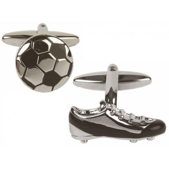 Set butoni 'Fotbal' si ac de cravata