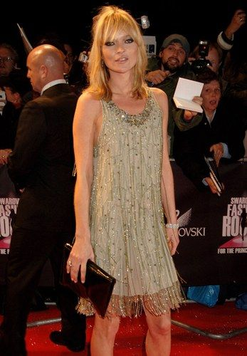 Stile anni '20 delle star: Kate Moss
