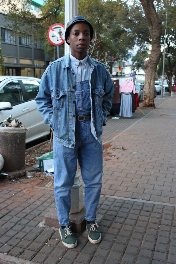 Photographer: Unam Ntantala. Sartist: Wanda Lephoto. Location: Braamfontein, Johannesburg.