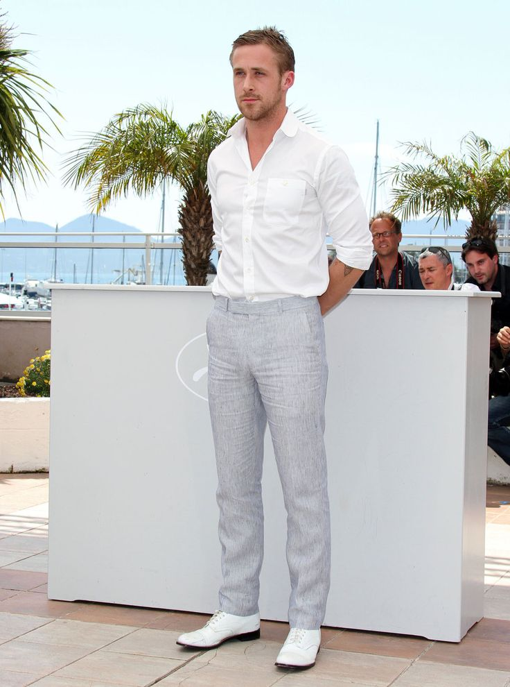 ryan gosling linen pants - Google Search