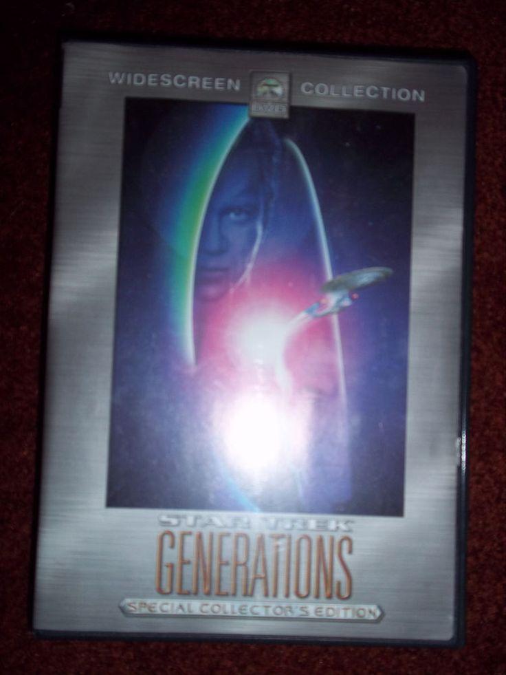 Star Trek Generations dvd Widescreen Special Collector's Edition