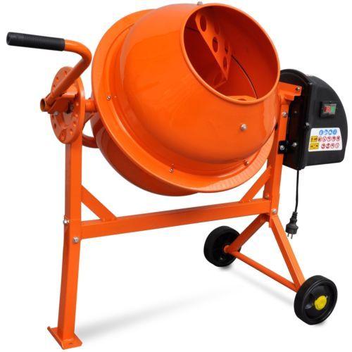 Betonmischer-Betonmischmaschine-Mischmaschine-Moertelmischer-Zementmischer-63-L
