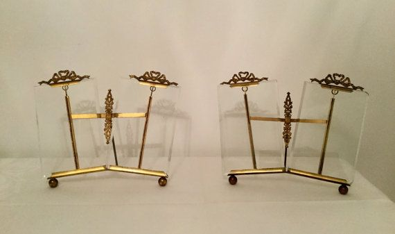 rare antique pair of double frames bronze and by VintagedeFrance