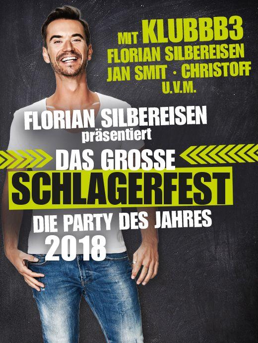 Das große Schlagerfest - Die Party des Jahres 2018 präsentiert von Florian Silbereisen - Tickets unter www.semmel.de