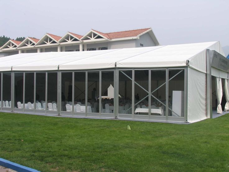 Glass wall system allow natural light inside the marquee,bring the outside in and allow the guests to admire the beauty of their surroundings. www.shelter-structures.com