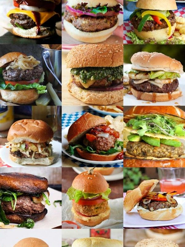 99 Amazing Burger Recipes from different food bloggers