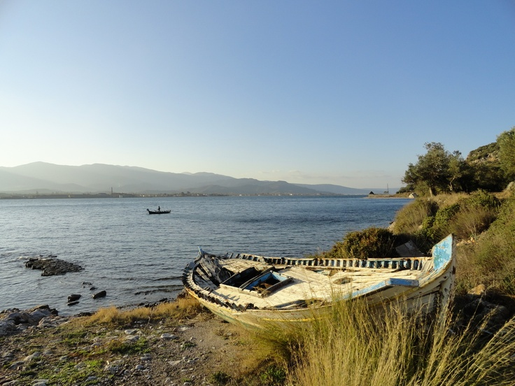 Ancient harbor near Kountouroudia