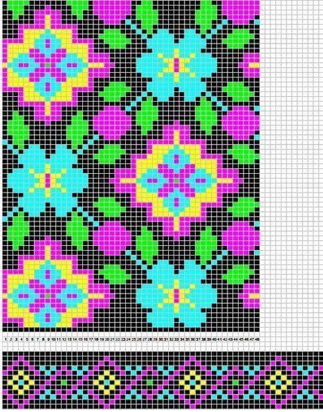 Patrón #1648: Mochila Wayuu ~ CTejidas [Crochet y Dos Agujas]