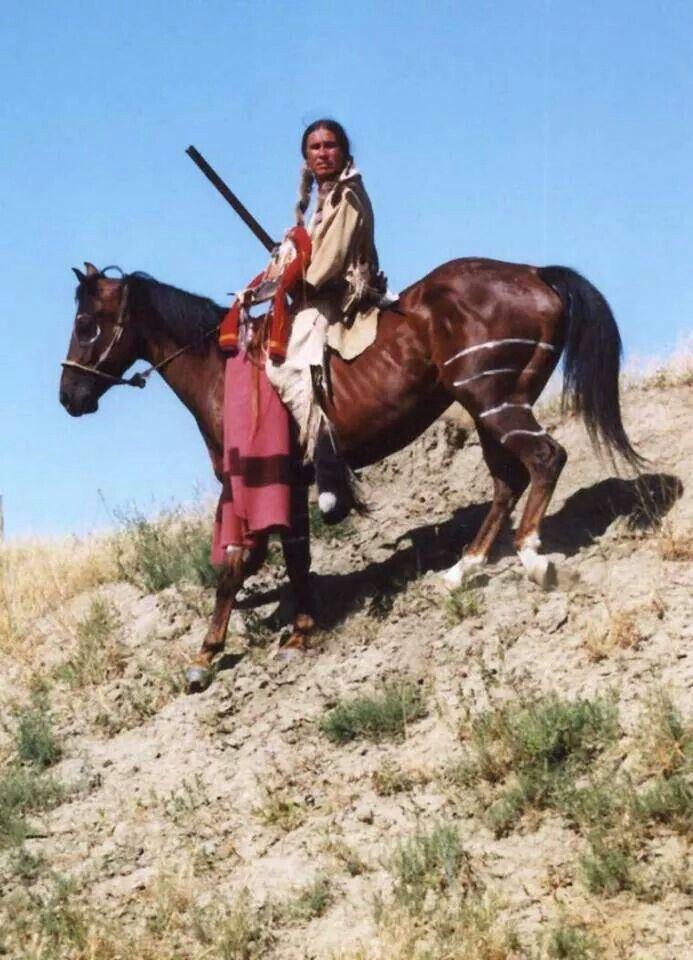 Native Warrior and horse - Via Native American ...
