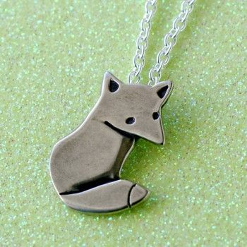 .: Independence Design, Fashion, Foxes Necklaces, Vintage Good, Doggies, Necklaces Design, Handmade Gifts, Accessories, Red Dog