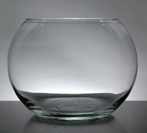 Michaels clear glass fish bowls fish bowl vases 50th for Glass fish bowls