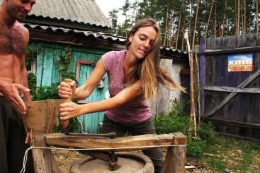 Workaway in Ukraine. Art-village Obyrok, Ukraine
