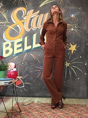 Wait and See presents  ALBERICA in NATHALIE DUMEIX Jumpsuit TILA MARCH Shoes