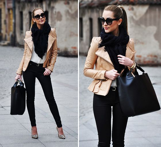 Zara Jacket, Mango Jeans