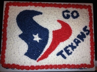 Houston Texans Cake By plowman8379 on CakeCentral.com