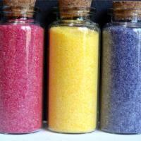 Azúcar coloreado