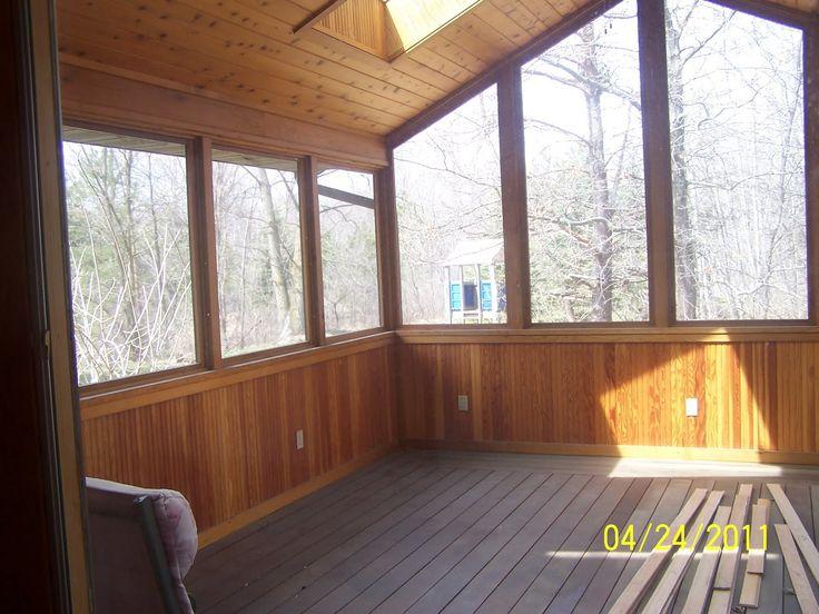 4 season porch flooring - Google Search