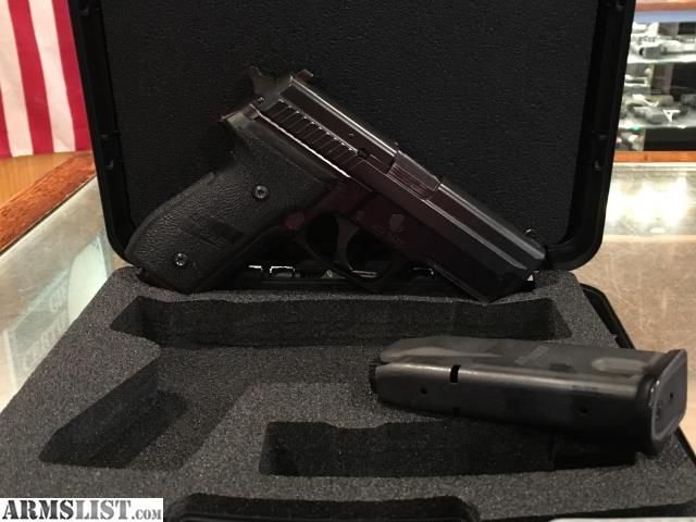 For Sale:  USED IN CASE EXCELENT CONDITION SIG SAUER P229 40 S&W WITH NIGHT SIGHTS