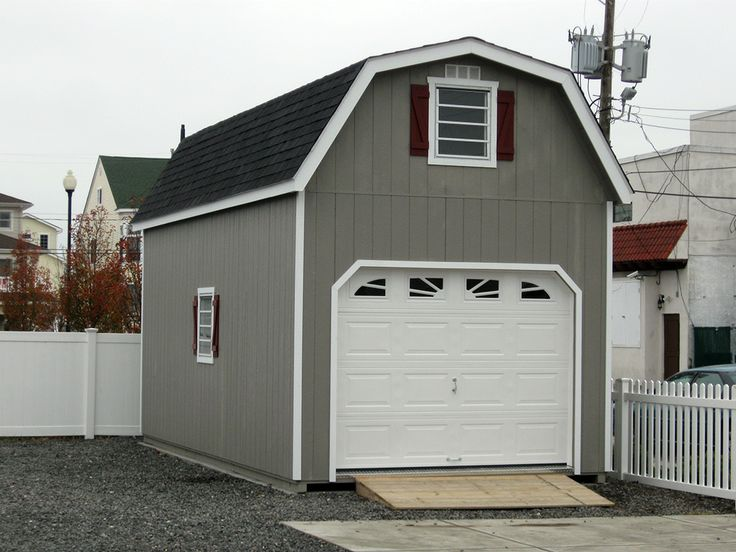Horizon Structures Offers A Variety 2 Story Garages With Customizable Options Including Added Living Quarters Dormers Check Out These Prefab