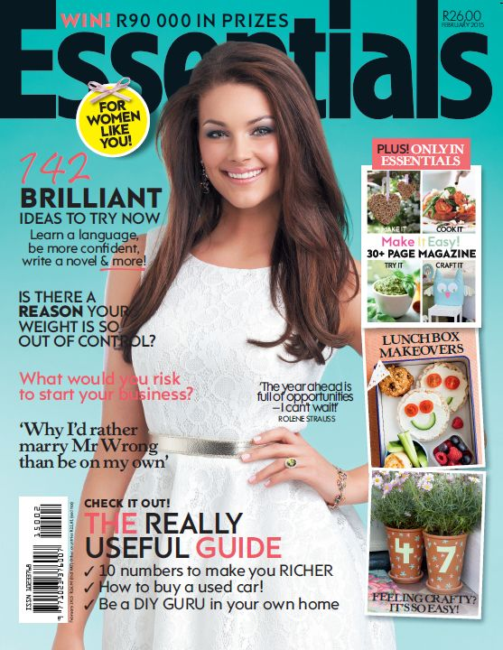 February 2015 cover of Essentials magazine.