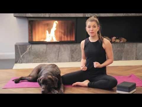 Yoga Vinyasa Flow   Fit, Energiegeladen und Geerdet durch den Herbst   Komplettes Yoga Programm - YouTube