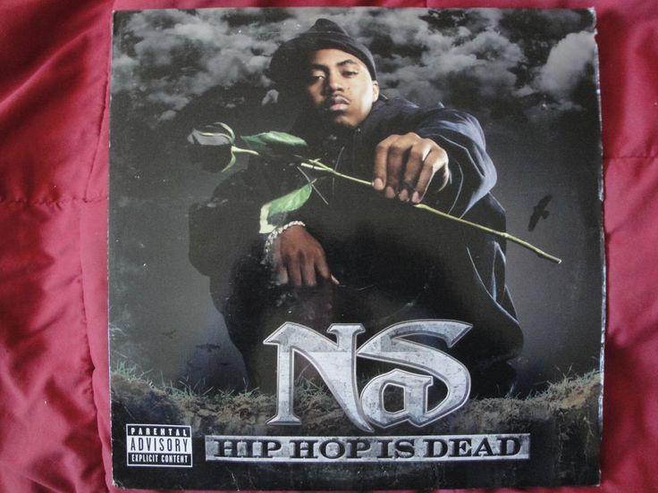 """NAS """"HIP HOP IS DEAD"""" 2X VINYL LP 2006 DEF JAM RECORDINGS B0007229-01, STEREO EX #EastCoastGangstaHardcoreWestCoastOldSchool"""