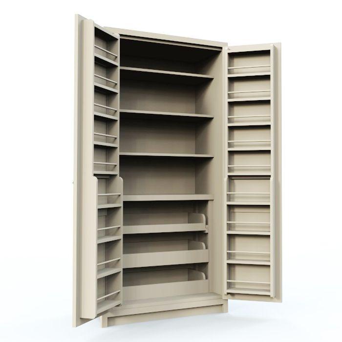 Diy Pantry Shelves Free Standing
