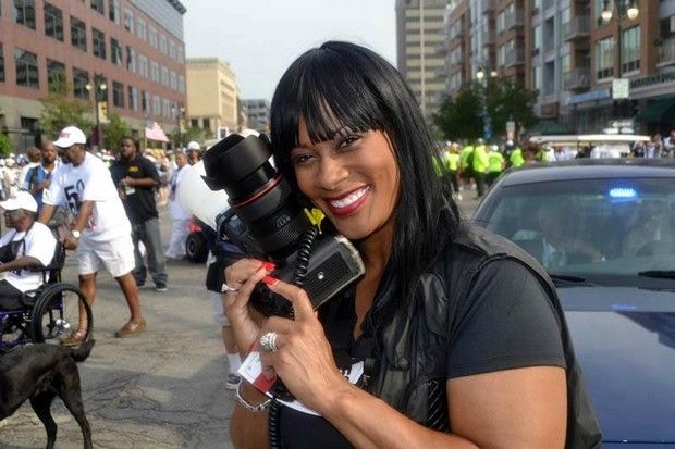 Celebrity photographer Monica Morgan, who has a studio in Detroit, has worked with everyone from Halle Berry to Aretha Franklin to Rosa Parks and her images have been published in newspapers and magazines around the world.