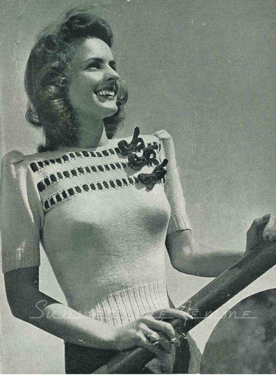 #1940s Sweater Girls