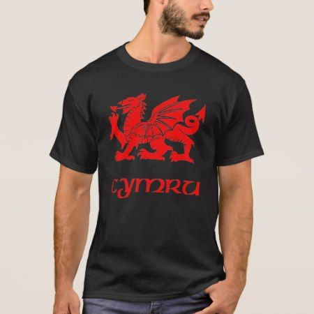 Celtic Wales Welsh Cymru Dragon T-Shirt - tap, personalize, buy right now!