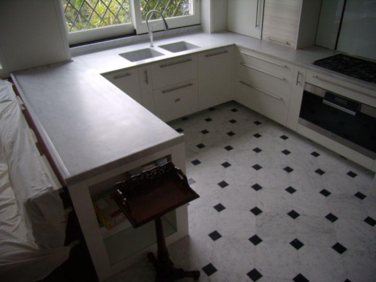 piani cucina in marmo bianco carrara