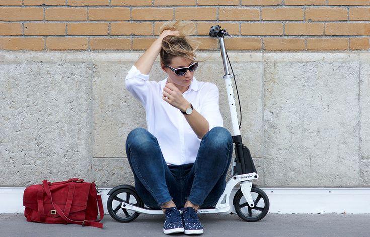 street style trottinette // blog mode lyon Artlex