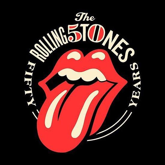 Artista recria famoso logo dos Rolling Stones em homenagem aos 50 anos da banda.