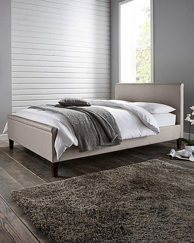 Amalfi Double Bed with Memory Mattress
