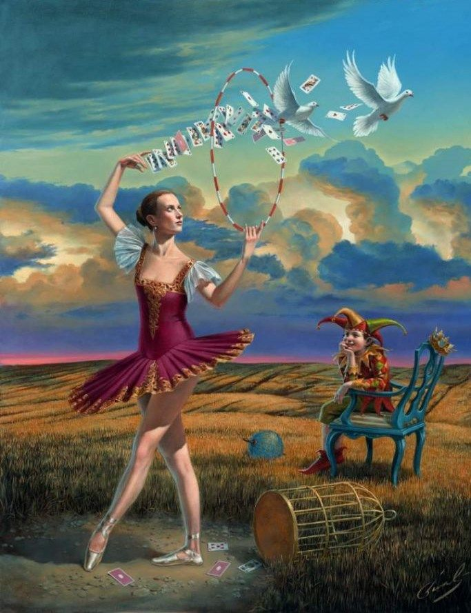 'Fortuity Of Choices', 2012 - Michael Cheval