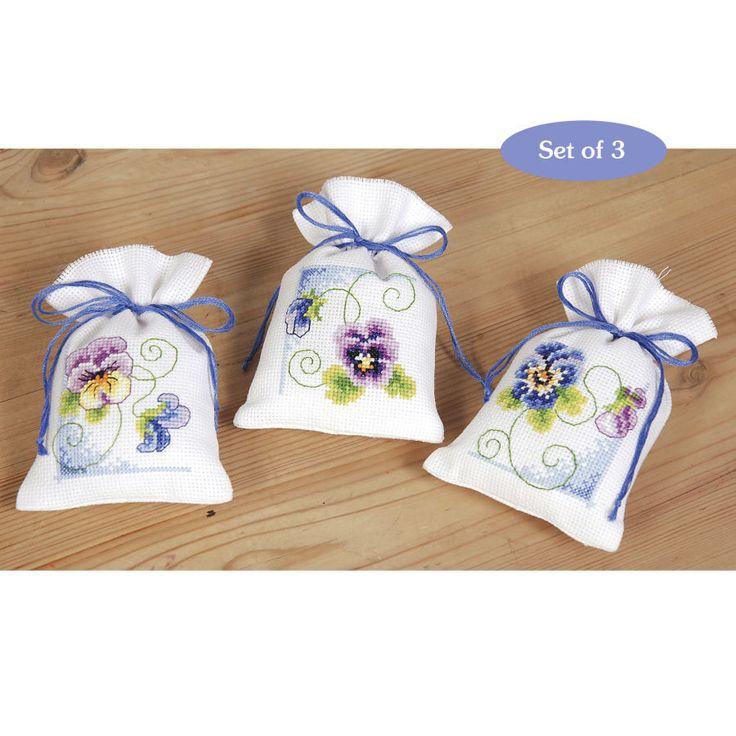 Violets Sachet Set