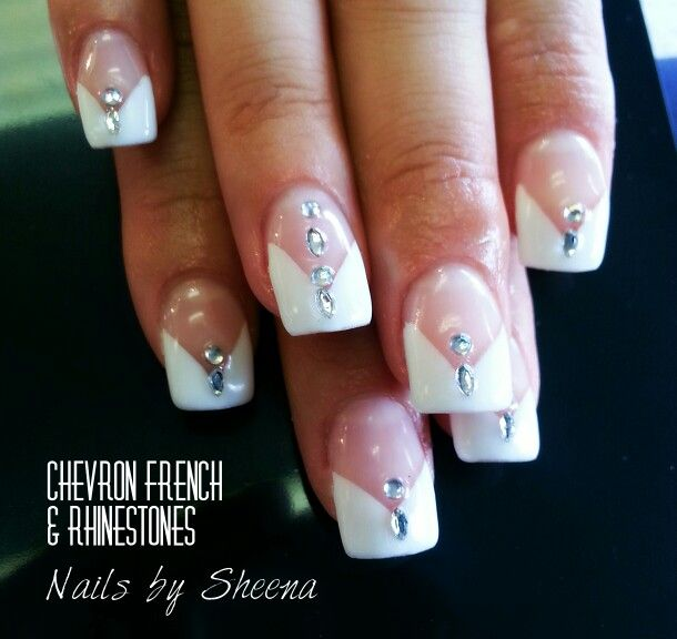 Not your ordinary French nails