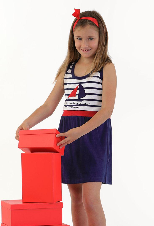 Camisola niña marinera #homewear