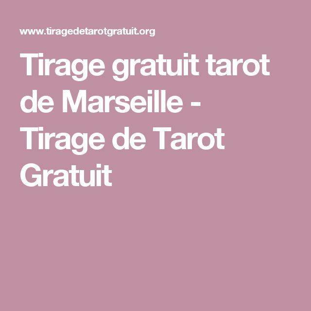 Tirage gratuit tarot de Marseille - Tirage de Tarot Gratuit