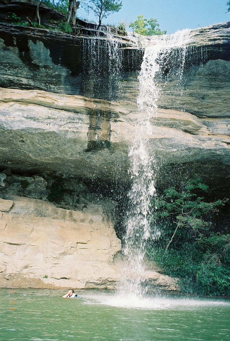 Beaver Lake Arkansas I Know Where That Waterfall Is Been