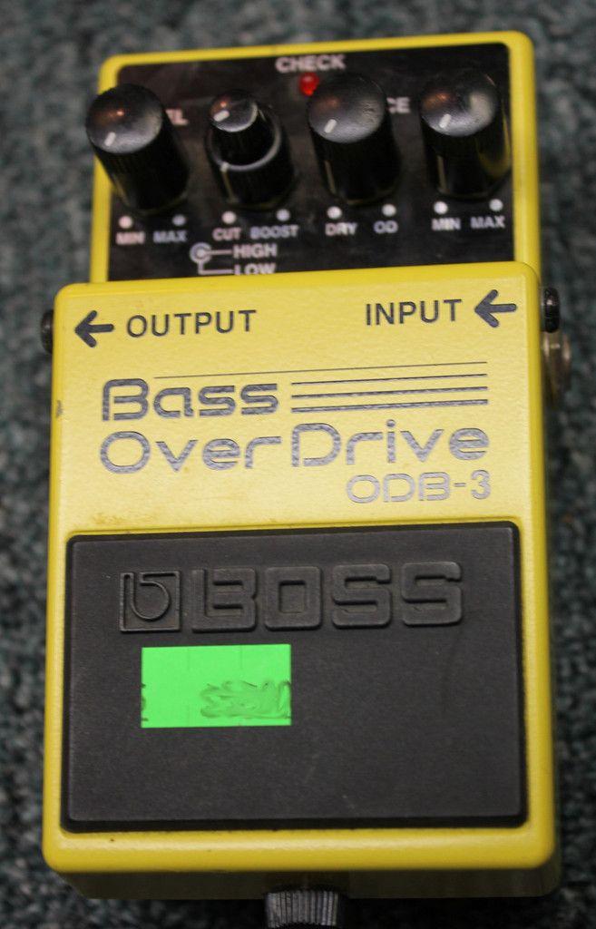 Boss ODB-3 Bass Overdrive Guitar Effects Pedal