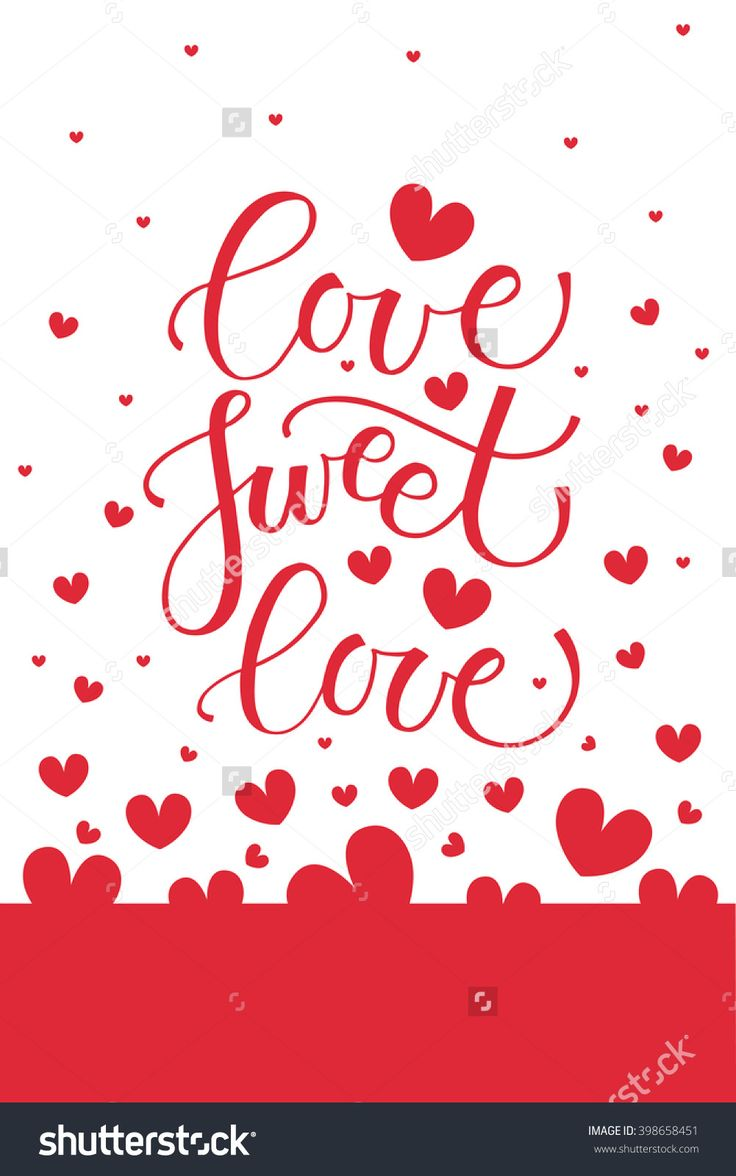 Love Sweet Love Text As Valentine'S Day Badge And Icon. Romantic Quote Card/Invitation/Flyer/Banner Template. Love Background. Love Sweet Love Lettering Typography Poster. Vector Illustration Eps 10 - 398658451 : Shutterstock