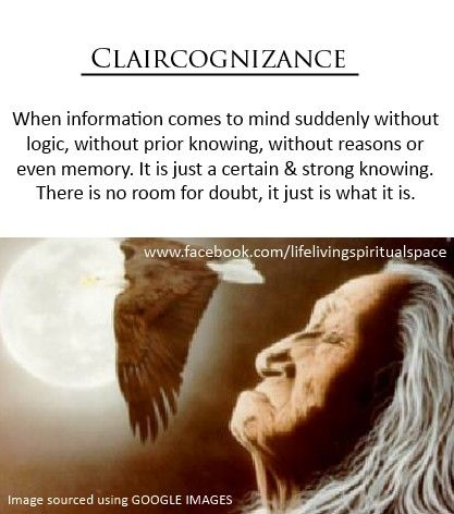 """Claircognizance...∆ A little note on claircognizance. TWIAK, That which I always knew. or TWIT """"That which I thought"""""""