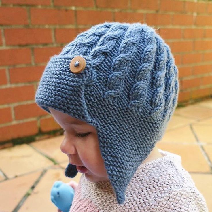 How To Knit A Baby Aviator Hat Zone