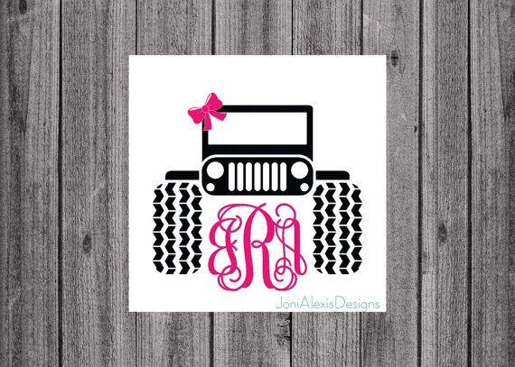 Best Etsy Stuff Images On Pinterest Yeti Decals Vinyl Decals - Jeep vinyls for yeti cups
