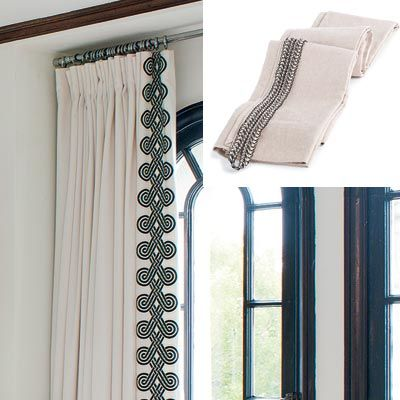 Best 25 Curtain Trim Ideas On Pinterest Curtains With Leading Edge Drapery Panels And Blue