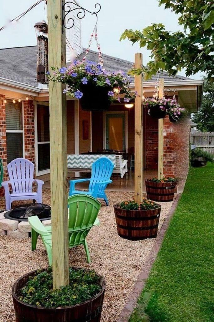 Multifunction Backyard Inexpensive Backyard Ideas Small