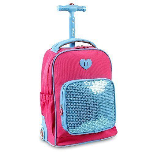 School Bags For Kids Children Rolling Backpacks Telescoping Handle Book Bag NEW #SchoolBagsForKidsChildrenRollingBackpacks #Bookbag