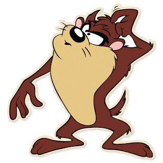 Tasmanian devil looney tunes The Tasmanian Devil, often referred to as Taz, is an animated cartoon character featured in the Warner Bros. L...